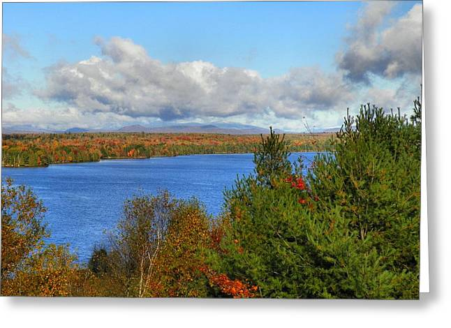 Mount Katahdin Autumn 18 Greeting Card