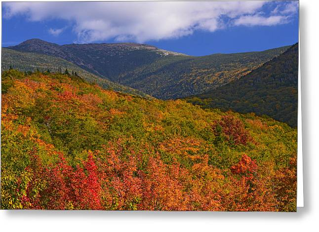 Mount Lafayette Greeting Card