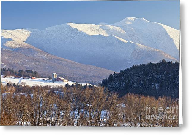 Mount Mansfield Winter Greeting Card