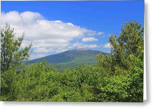 Mount Monadnock From Little Monadnock Mountain Greeting Card