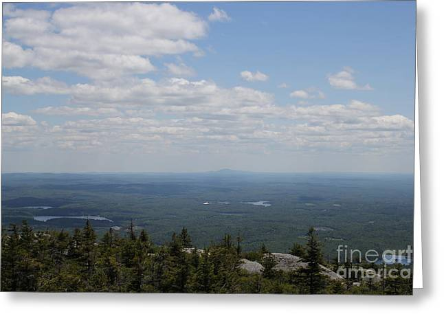 Mount Monandock Summit View Greeting Card