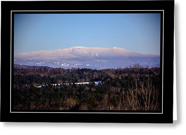 Mount Moosilauke Snowy Blanket Greeting Card