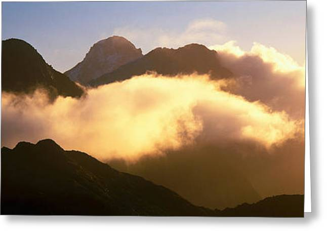 Mount Pembroke Fiordland National Park Greeting Card
