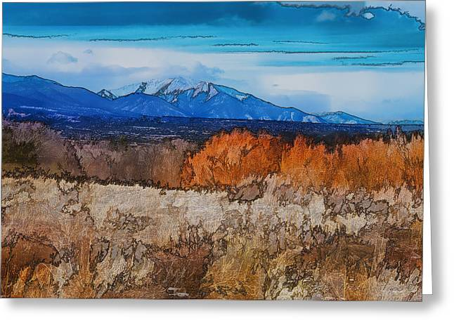 Mount Princeton Greeting Card