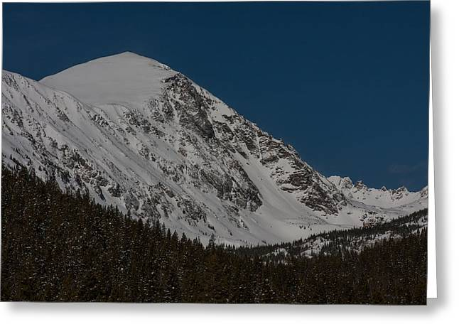 Quandary Peak Greeting Card by Peter Skiba
