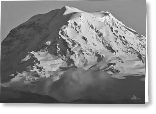 Mount Rainier Landscape Greeting Card by Bob Noble Photography