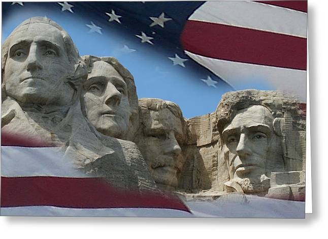 Mount Rushmore 1 Greeting Card