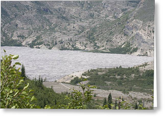Mount Saint Helens National Volcanic Monument - 0033 Greeting Card by S and S Photo