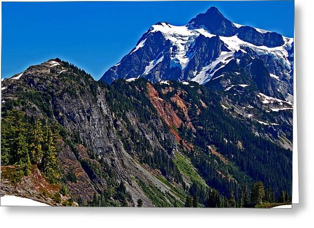 Mount Shuksan Washington Greeting Card