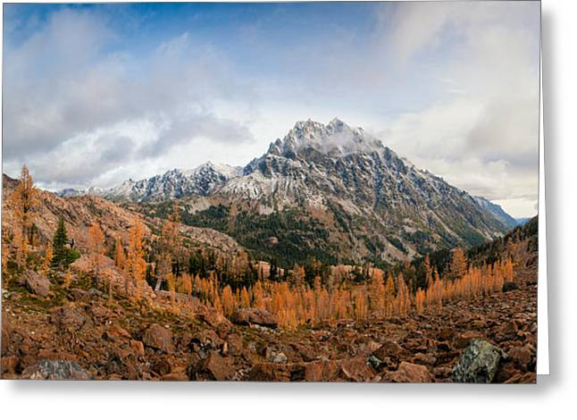 Mount Stuart Panorama Greeting Card