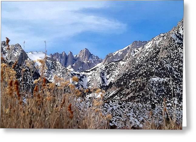Mount Whitney - California Greeting Card