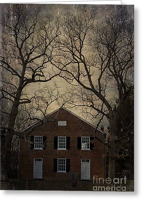 Mount Zion Church Greeting Card by Terry Rowe