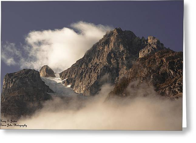 Mountain Clouds Greeting Card
