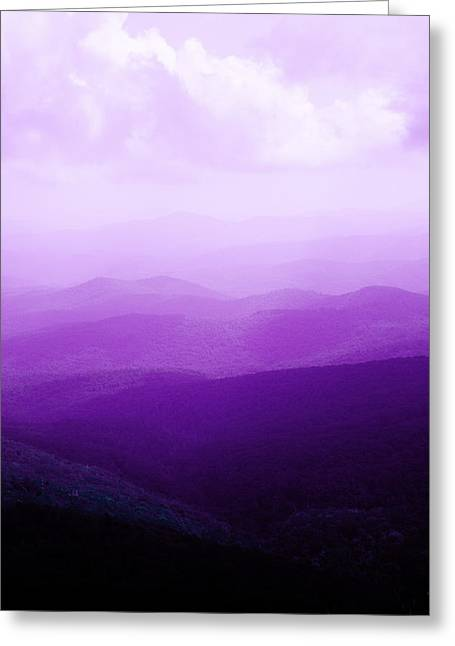 Greeting Card featuring the photograph Mountain Dreams by Kim Fearheiley
