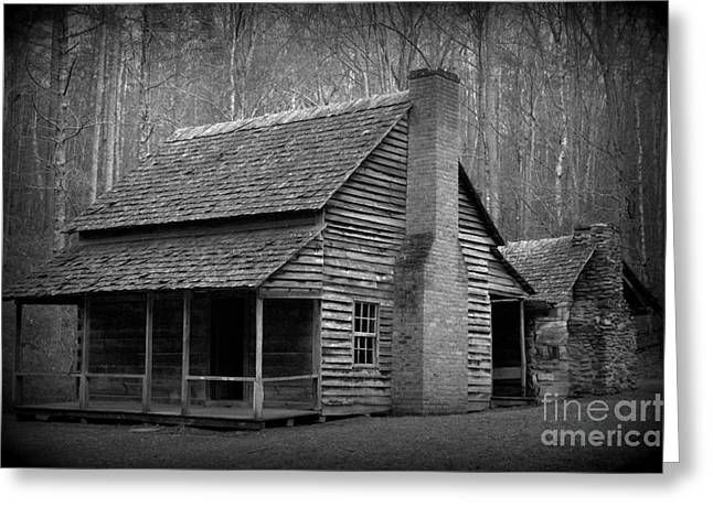 Mountain Folks In Cades Cove Greeting Card
