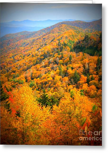 Mountain Glory Greeting Card