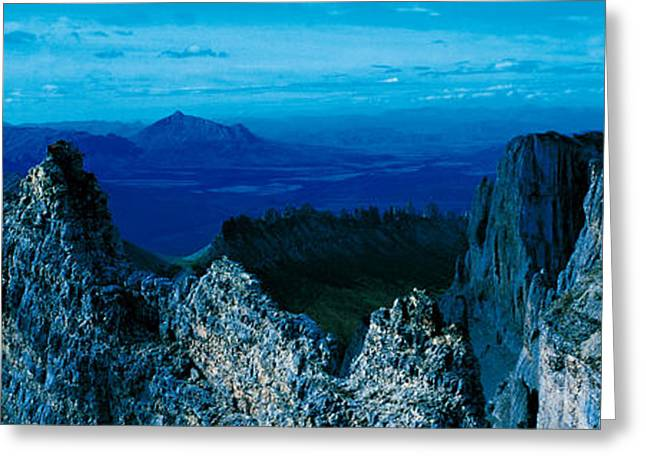 Mountain Goat Yukon Territory Canada Greeting Card by Panoramic Images