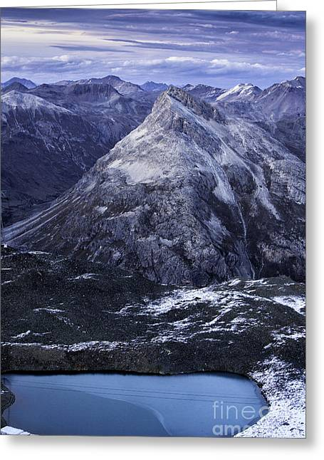Mountain Lake  Greeting Card by Timothy Hacker