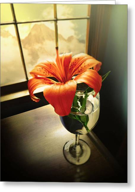 Mountain Lily Greeting Card