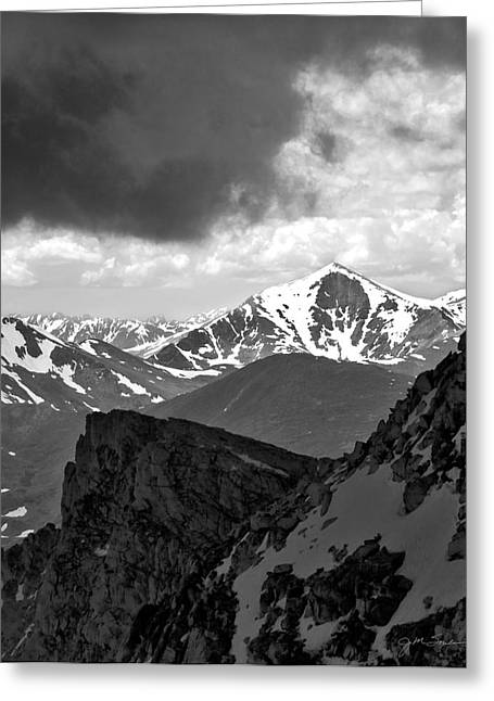Mountain Majesty Greeting Card by Julie Magers Soulen