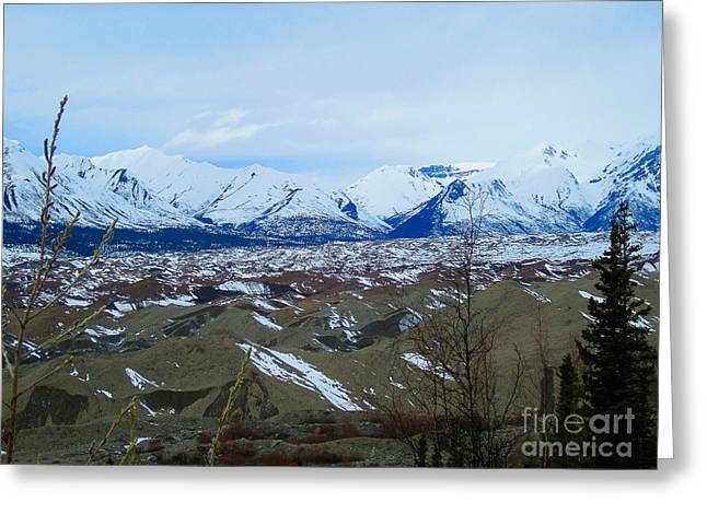 Mountain Meringue Greeting Card by Heather  Hiland