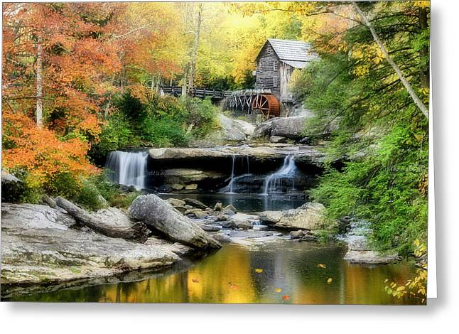 Mountain Mill Greeting Card