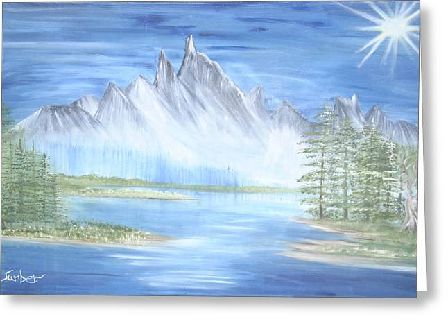 Mountain Mist 2 Greeting Card