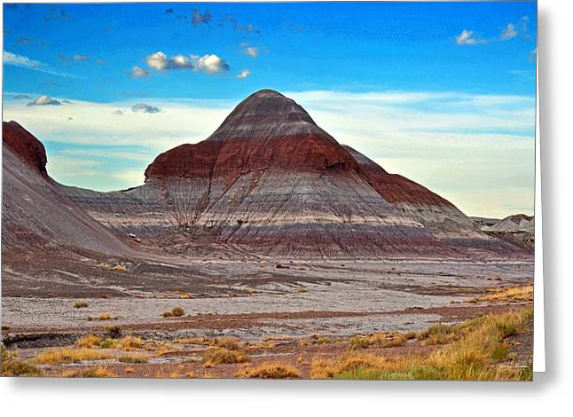 Mountain Of Color - Painted Desert  002 Greeting Card