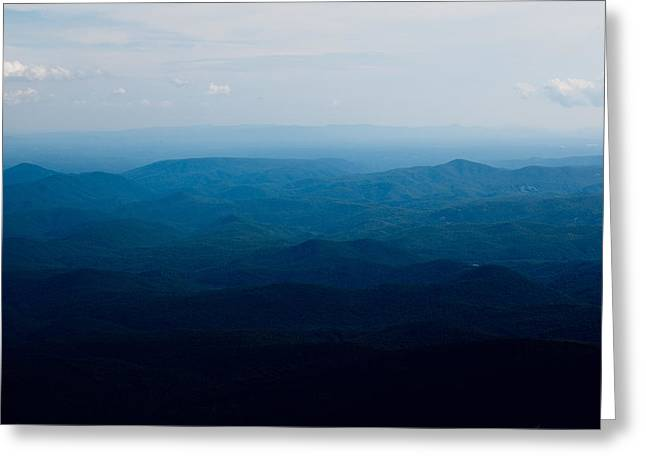 Greeting Card featuring the photograph Mountain Peak by Kim Fearheiley