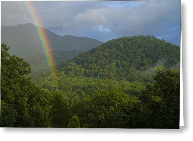 Mountain Rainbow 2 Greeting Card