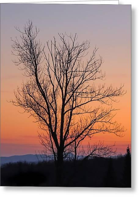 Mountain Sunset 2 Greeting Card