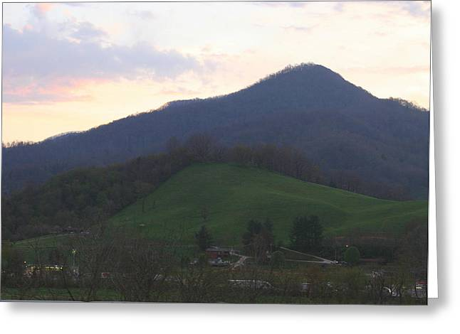 Mountain Sunset Eleven Greeting Card