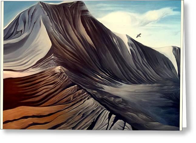 Mountain To Climb Greeting Card by Dawson Taylor