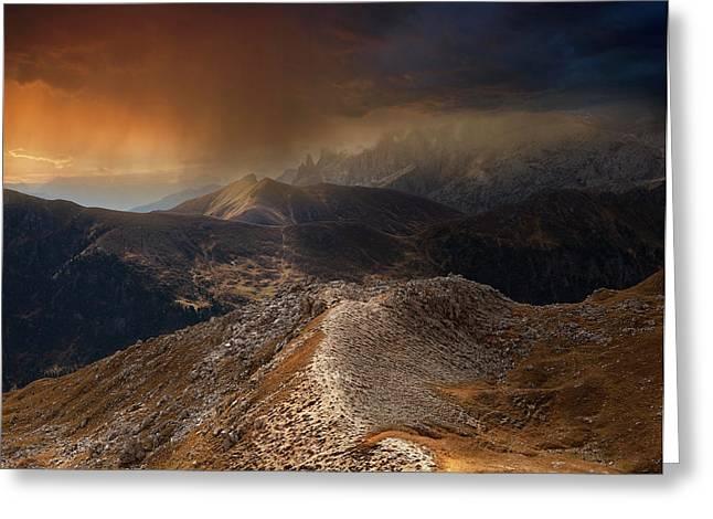 Mountain Weather Greeting Card