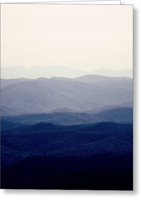 Greeting Card featuring the photograph Mountains by Kim Fearheiley