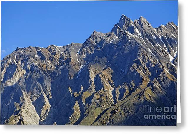 Mountains Of The Karakoram Greeting Card by Robert Preston