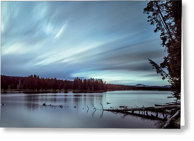 Moving Morning Greeting Card by Jon Glaser