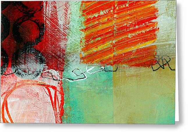 Moving Through 4 Greeting Card by Jane Davies