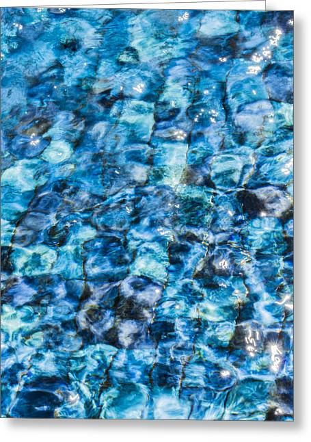 Greeting Card featuring the photograph Moving Water 2 by Leigh Anne Meeks