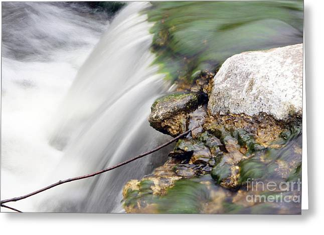 Moving Water Greeting Card