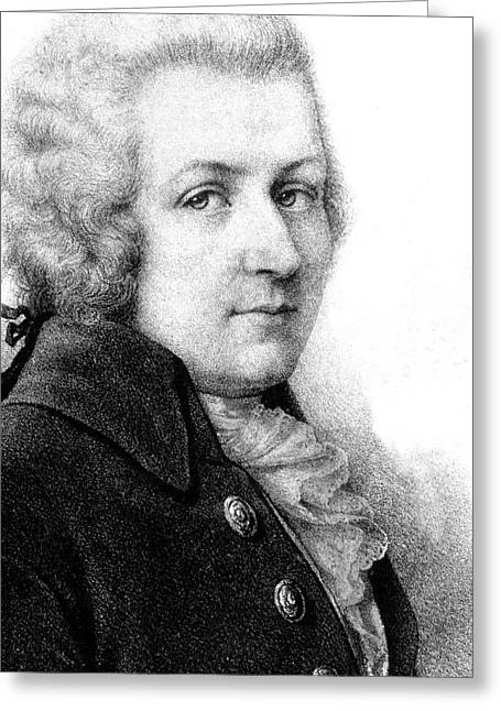 Mozart Greeting Card by Collection Abecasis