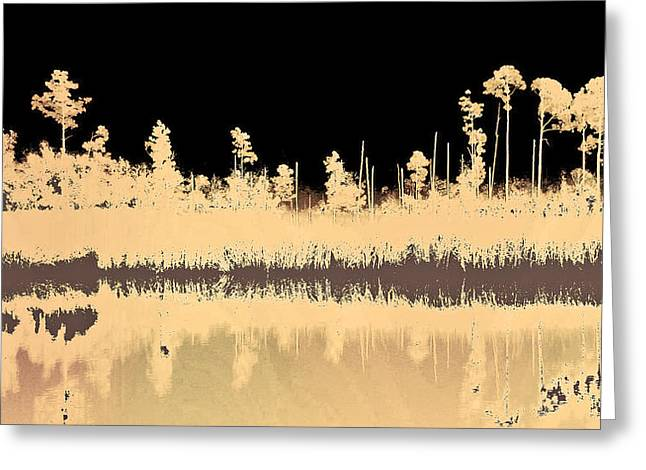Mprints - Bare Bones Greeting Card by M  Stuart