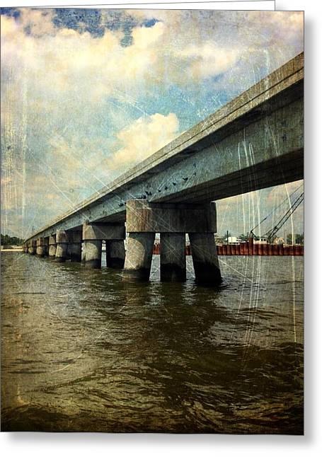 Mprints - The Way Back Greeting Card by M  Stuart