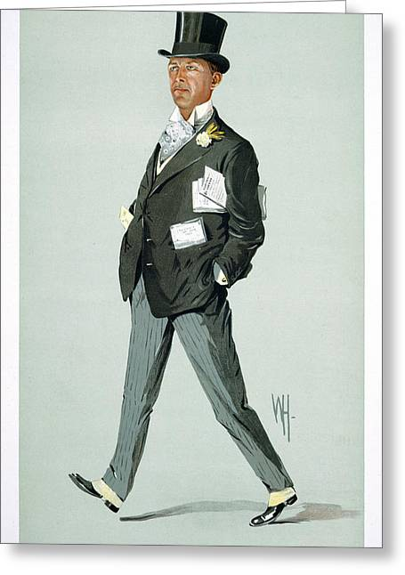 Mr Charles Coop Greeting Card by British Library