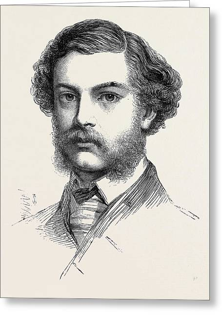 Mr. Jopling Winner Of The Queens Prize The National Rifle Greeting Card