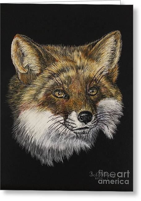 Mr. Red Fox Greeting Card