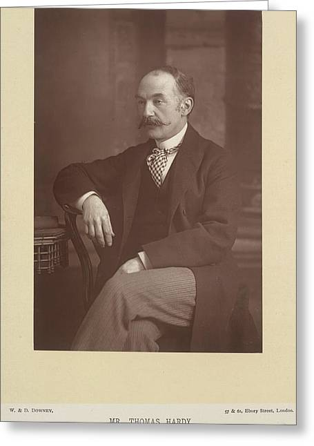 Mr Thomas Hardy Greeting Card by British Library