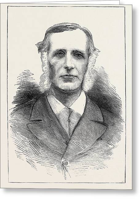 Mr. Thomas Henry Burke, The Late Under Secretary For Ireland Greeting Card