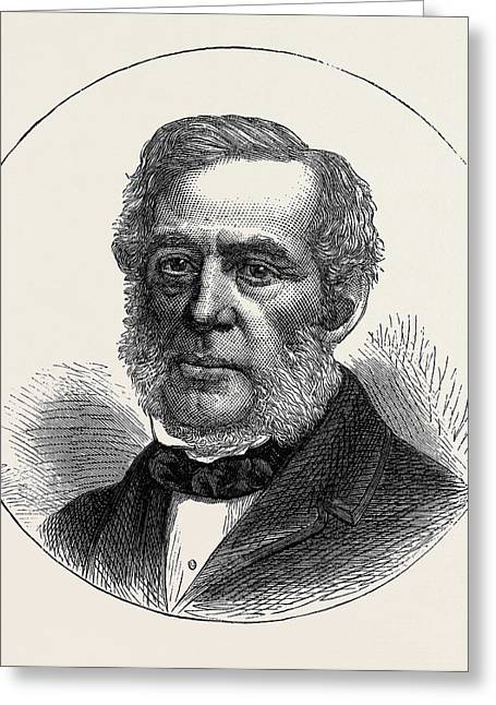 Mr. Twells M.p. For The City Of London 1874 Greeting Card by English School