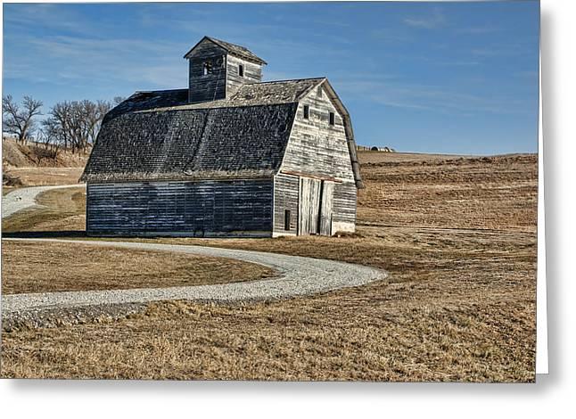 Mrs. Green's Barn Greeting Card by Nikolyn McDonald